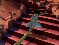 Teen titans episode the quest, woman fucks bedpost
